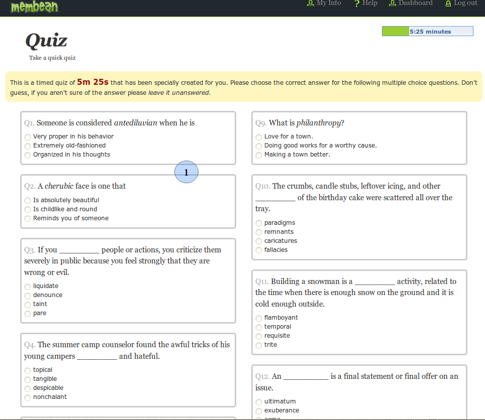 Quiz-sample